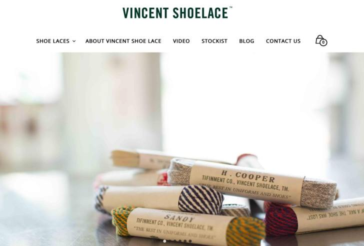 VINCENT SHOELACE(ヴィンセント シューレース)・靴紐