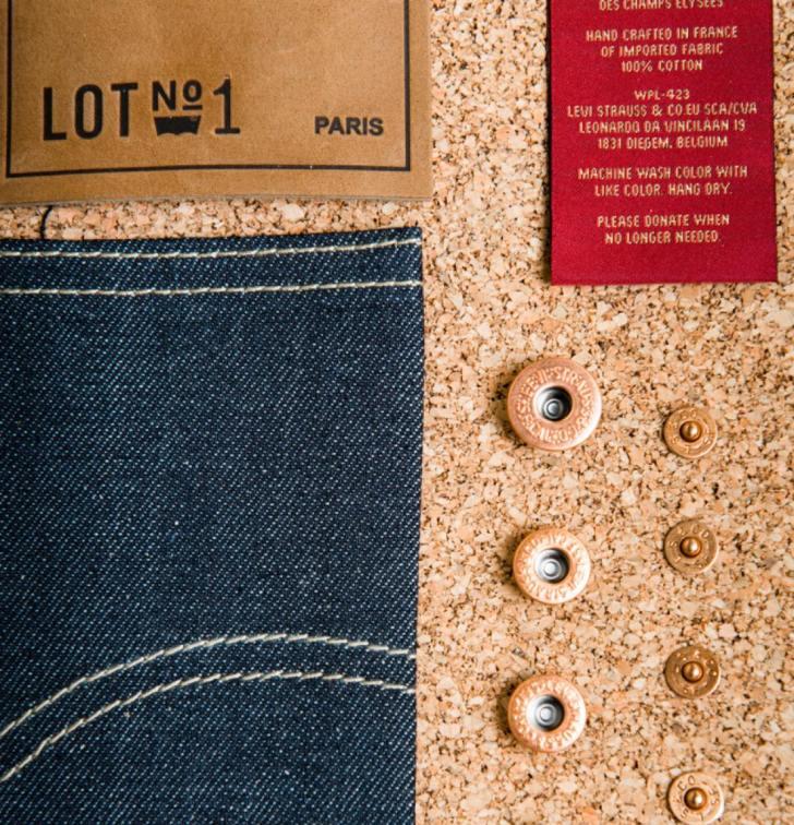 リーバイスのテーラードジーンズ『LEVI'S LOT NO. 1 JEANS』