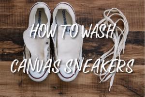 キャンバススニーカーの上手な洗い方