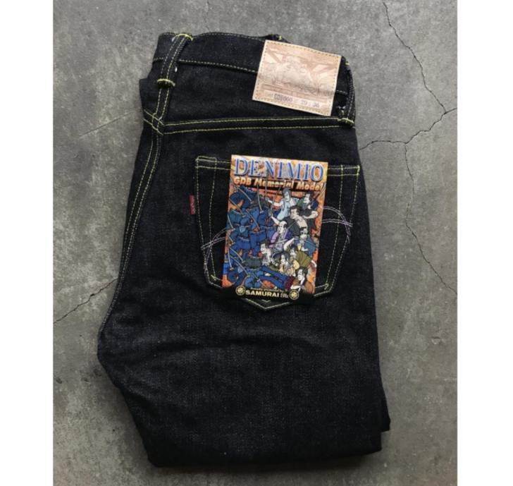 サムライジーンズ25周年記念 Samurai Jeans × Denimio 限定コラボモデル