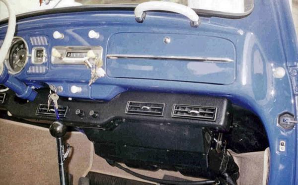 1968 Gmc Wiring Harness Air Conditioner Kit 1958 67 Standard Bug Black Textured