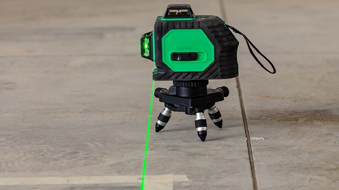 Features of the laser level