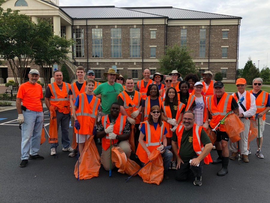 Rotary Litter Pick Up