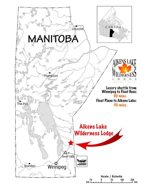 Fly in Fishing Canada and Manitoba, Winnipeg Fishing
