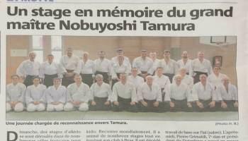 Stage en mémoire de Maître Tamura