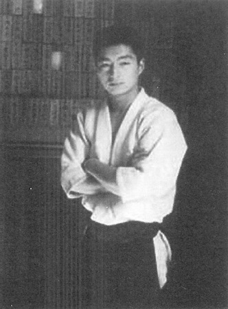 Yoshimitsu Yamada in his twenties