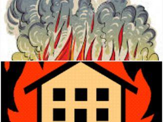 آگ لگنے کی صورت میں حفاظتی تدابیر