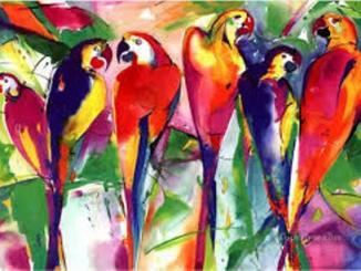 پرندوں کی محفل