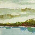 Nature painting art canvas - oil paint