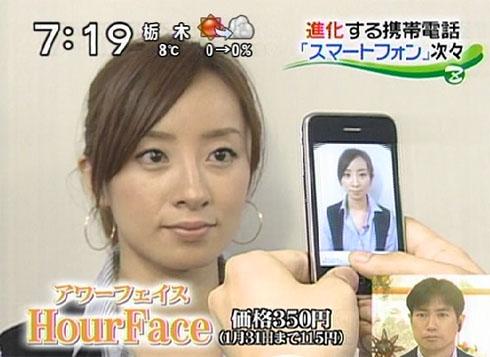 hourface