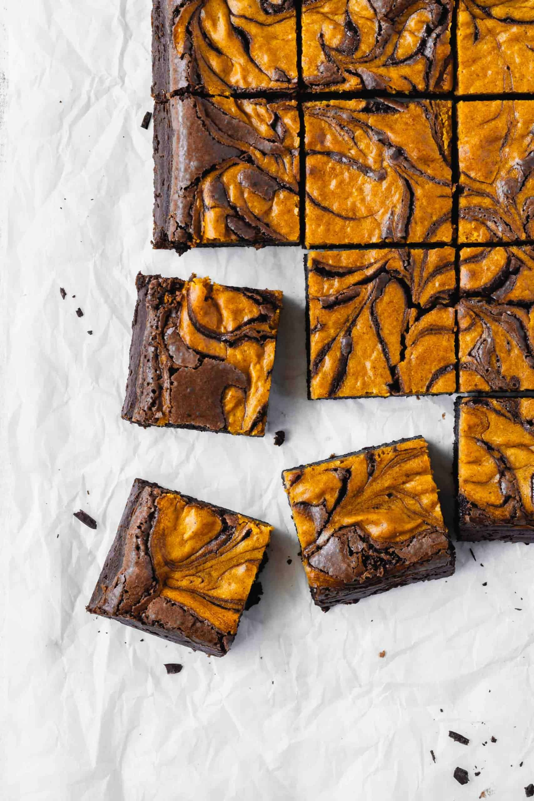 Pumpkin Cheesecake Swirl Brownies Ai Made It For You