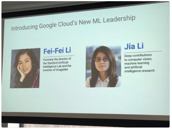Fei-Fei Li Google Cloud Machine Learning