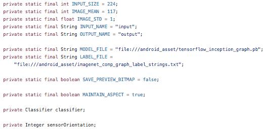 TensorFlow TF Classify
