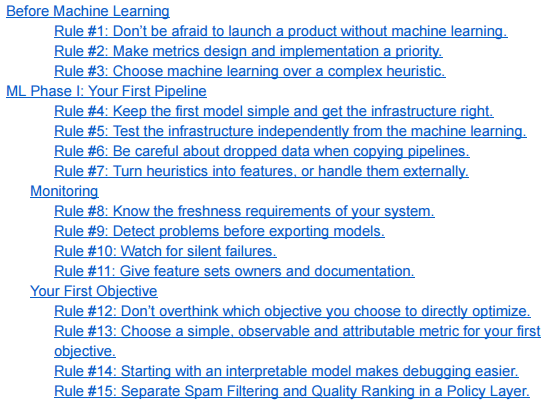 Machine Learning Best Practices Part1