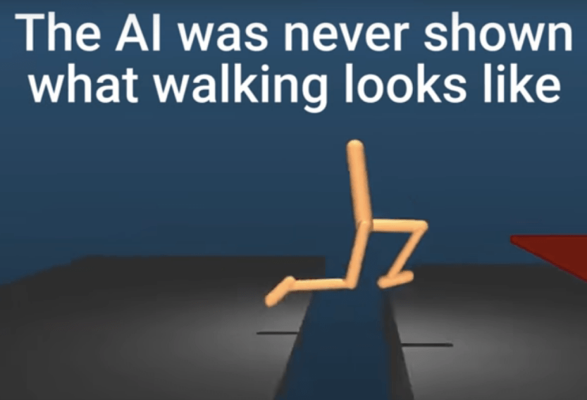 DeepMind AI learns to walk