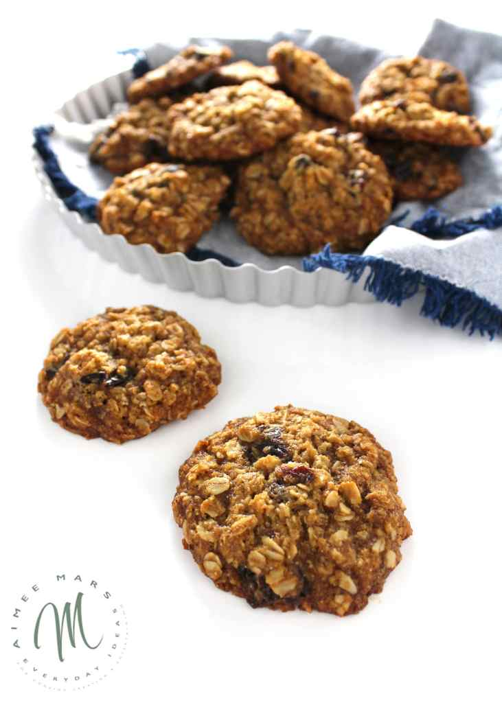 These Vegan Dairy-Free Egg-Free Oatmeal Cookies are divine and perfect for anyone who has a peanut or dairy allergy, especially those with kids who do.