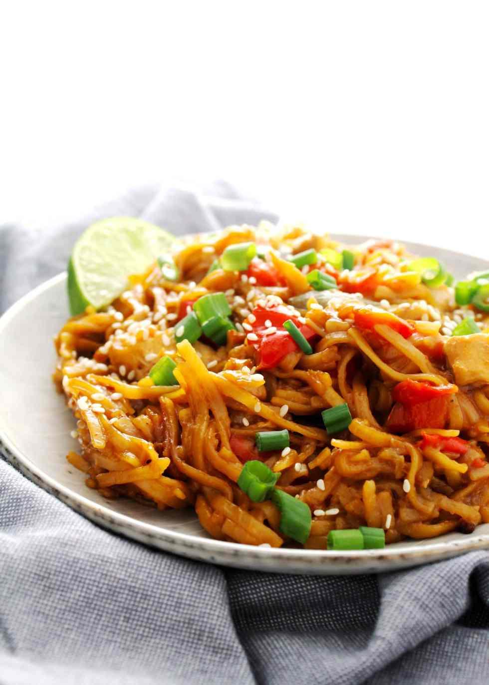 Instant Pot Sticky Noodles