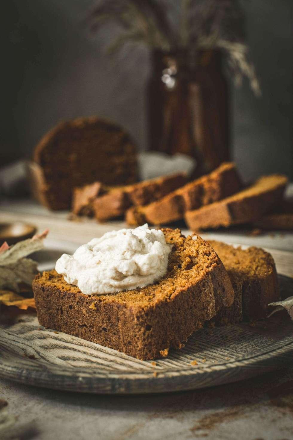 quick bread with cream