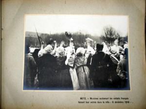 entrée Metz 1918