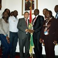 Belgique : Dr Kodom a reçu le prix mondial à Bruxelles