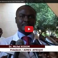 L'ONG AIMES Afrique fait don de matériels médicaux au CHU de Lomé