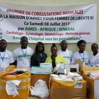 SENEGAL: Consultations médico-chirugicales et don de médicaments à la maison d'arrêt des femmes de liberté 6 (Dakar)