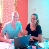 MOBILISATION DES RESSOURCES : Echanges de compétences et d'expérience, AIMES AFRIQUE TOGO accueille deux experts de « MANAGERS SANS FRONTIERE »