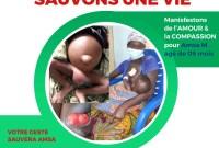 Émission SINAM-HONAM de AIMES-AFRIQUE : appel de fonds pour sauver un nourrisson de 9 mois