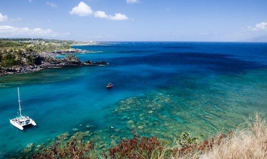 Honolua Bay Snorkeling on Maui Island, Hawaii