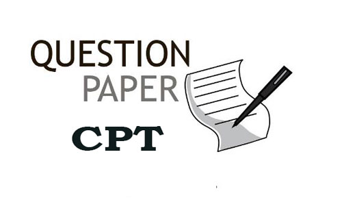 CPT Question Papers with Downloaded Links, Syllabus