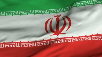 stock-footage-seamless-looping-d-rendering-closeup-of-the-flag-of-iran-flag-has-a-detailed-realistic-fabric