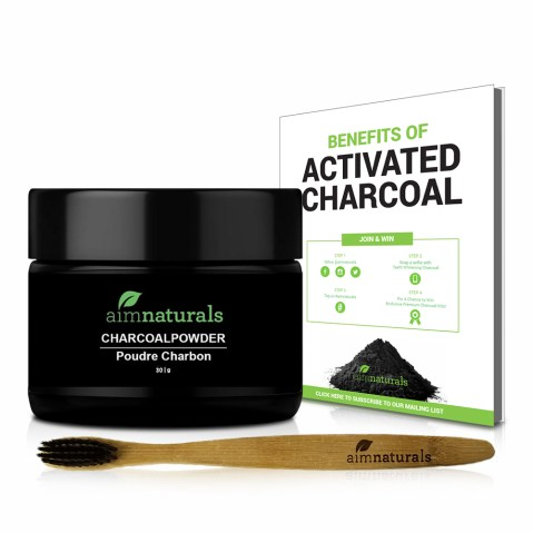 Image result for aimnaturals Best Canadian Natural Teeth Whitening Activated Charcoal Powder In Bulk
