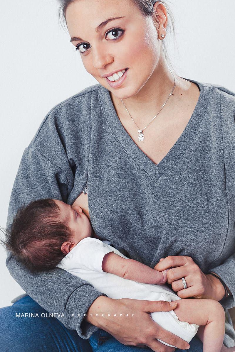 Una Felpa per l'allattamento perfetta? Quella disegnata da una mamma per le mamme