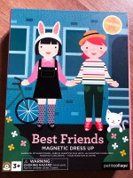 Best Friends Magnetic Dress Up: vesti e gioca!