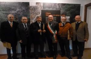 Inaugurazione Museo delle Cartiere con il Sindaco di Valstagna, Angelo Moro