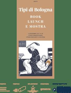 Tipi di Bologna / mostra e presentazione del libro 23 novembre 2017 @ studio Dina&Solomon | Bologna | Emilia-Romagna | Italia