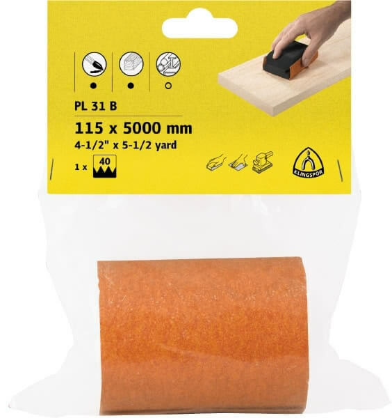 Klingspor Sandpaper Rolls