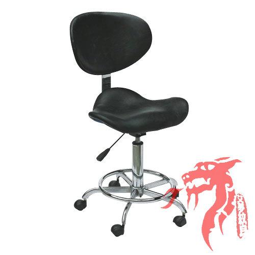 tattoo artist chair orange stackable chairs studio equipment