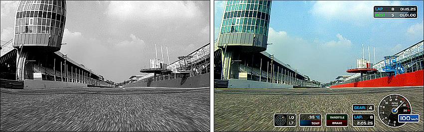CMOS sensor and improved video quality