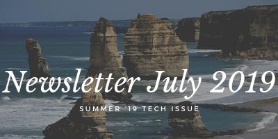 July 2019 Aimviva Travel Club Newsletter (Tech Issue)