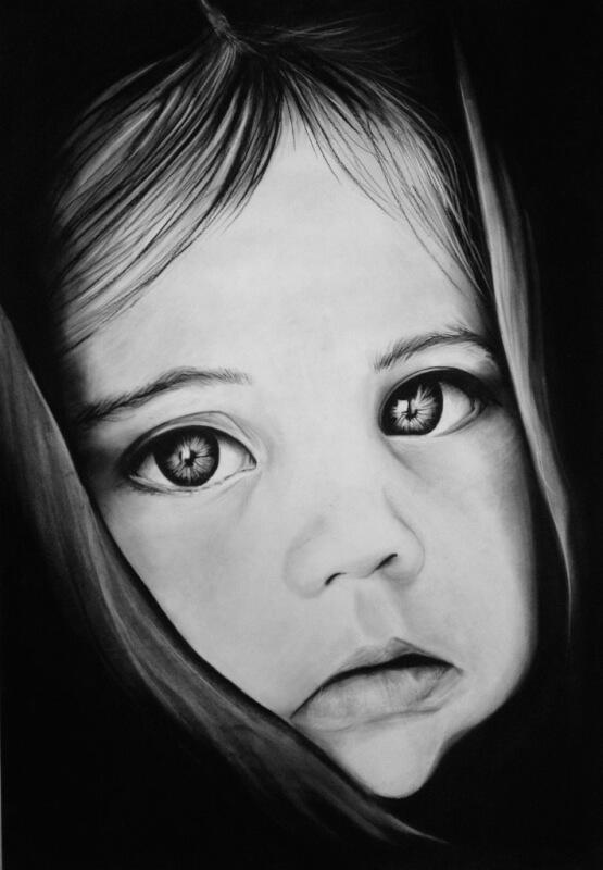 carboncillo Retratos a carboncillo Retratos retratos