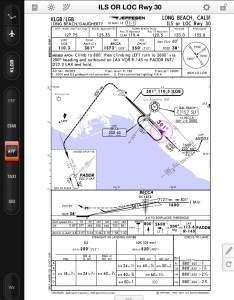 Jeppesen mobile flitedeck approach charts now display own ship position also rh ainonline