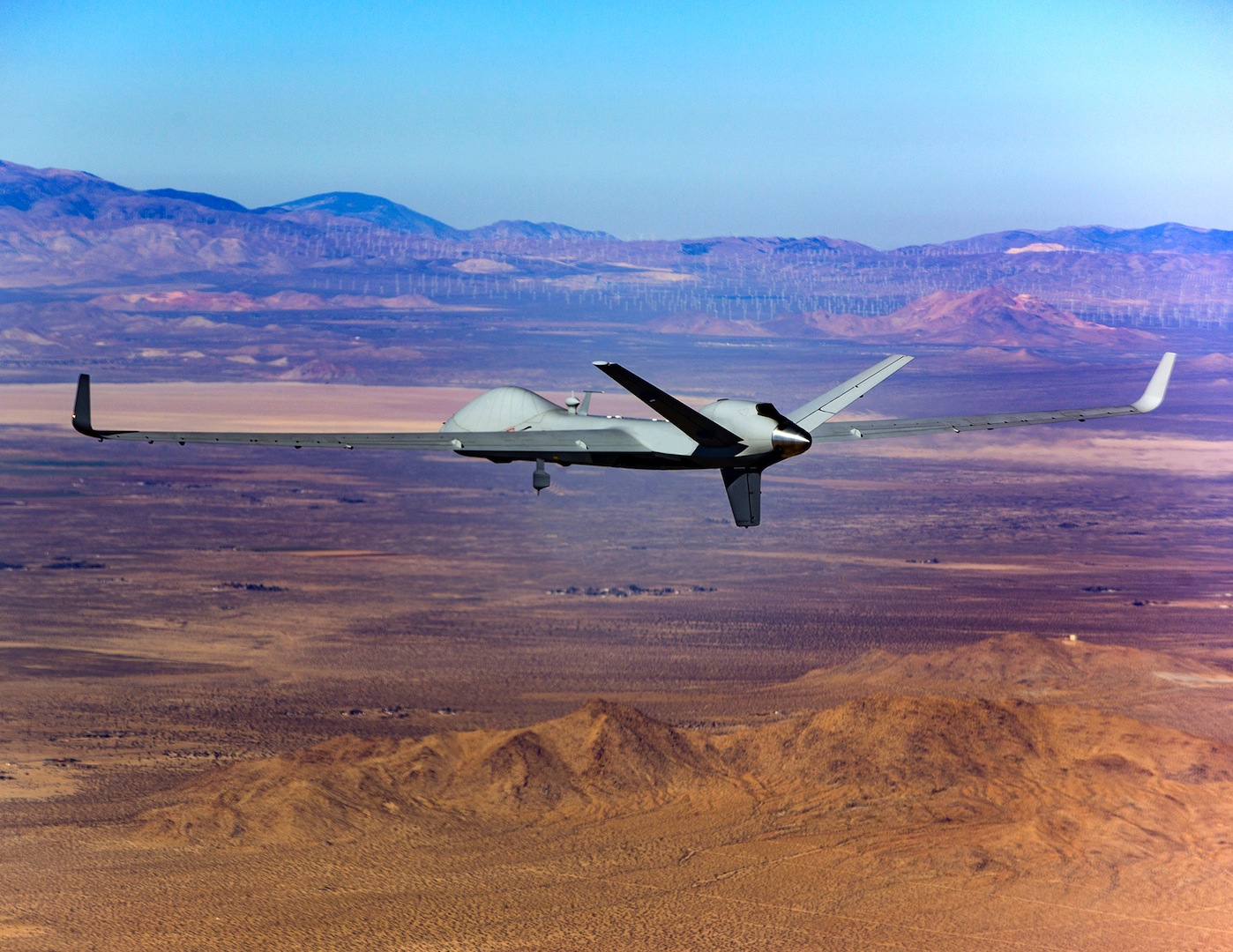 hight resolution of general atomics completes first flight of certifiable predator b