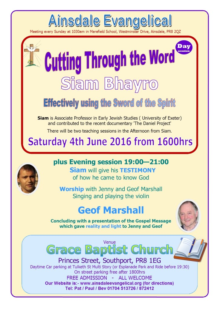 Poster Siam Bhayro June 2016