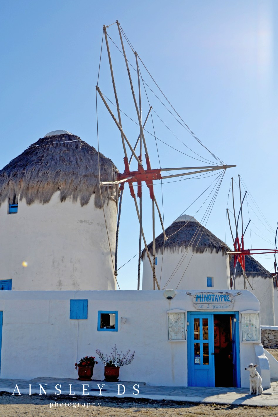 Mykonos, Greece. Travel Blogger and Photographer Ainsley About The world