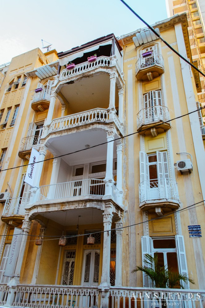 Exploring Beirut architecture, Travel Blog Lebanon