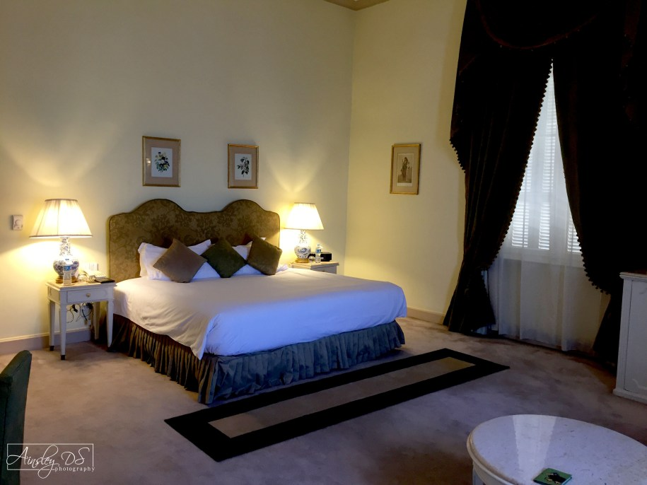 Suite at the Luxury Sofitel winter Palace. Luxor, Egypt