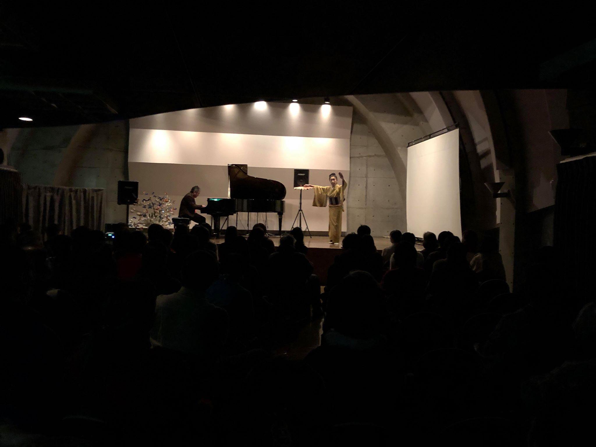 やまと師匠の舞とピアノ-1
