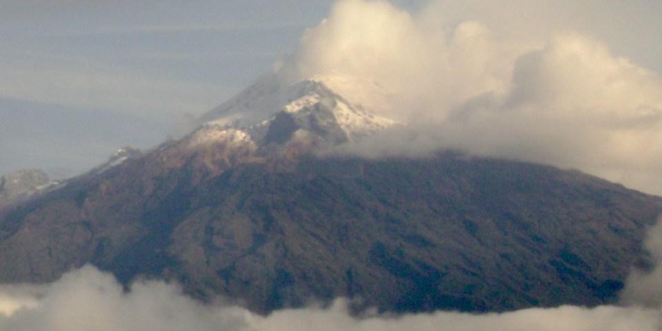 Volcano close up