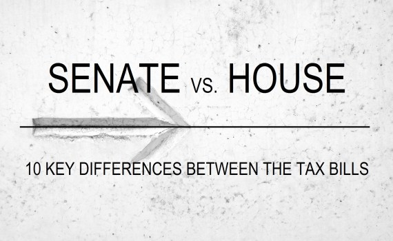 Nicholas Aiola, CPA - 10 Key Differences Between the Senate and House Tax Bills - Senate vs House